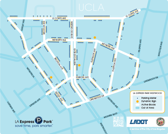 LA Express Park Area Map