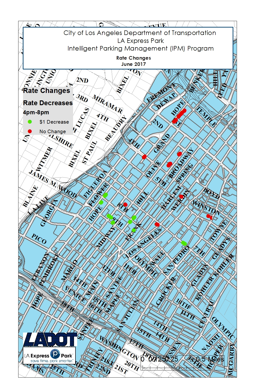 LA Express Park Updates Parking Meter Rates on June 12th | LA ...