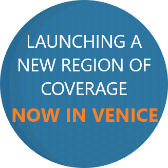 Launching a New Region of Coverage - Now in Venice
